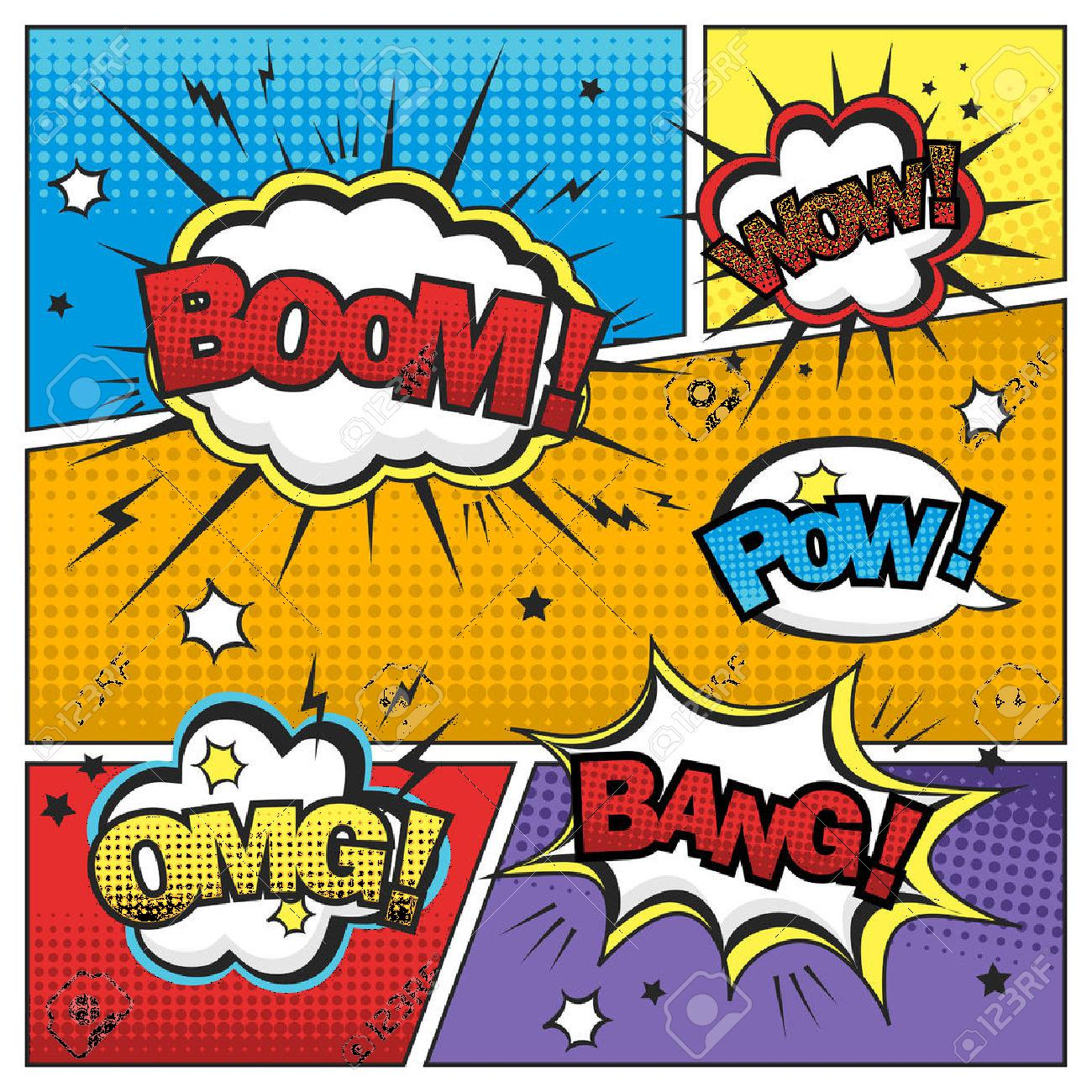 42086680-attractive-comic-sound-effect-set-isolated-on-colorful-comic-strip-template-Stock-Vector